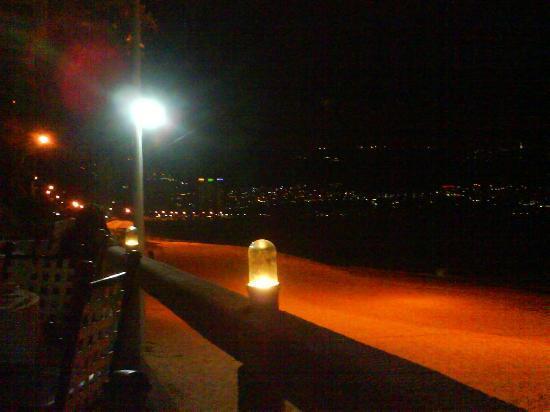 Hotel Acapulco Malibu: Desde el restaurante