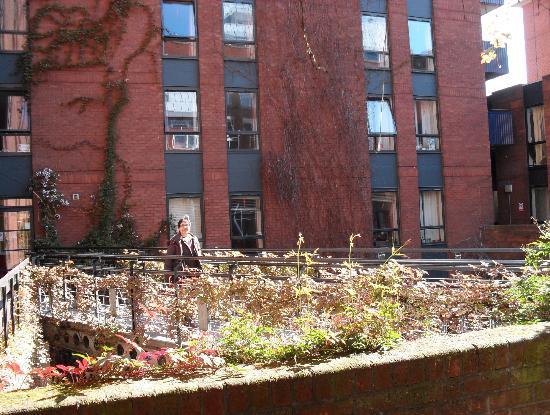 LSE Rosebery Hall Residence: Inner Court