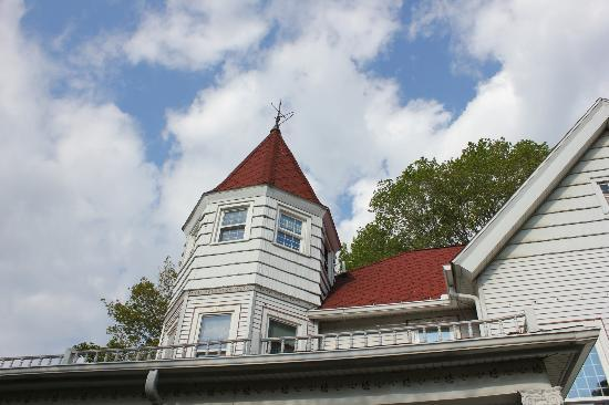 Kingsley House Bed and Breakfast Inn : Turret