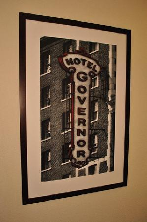 The Governor Hotel, a Coast Hotel: Inspired Local Artwork