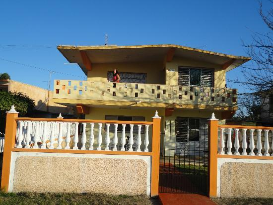 Eduardo's House: Front View of the Casa