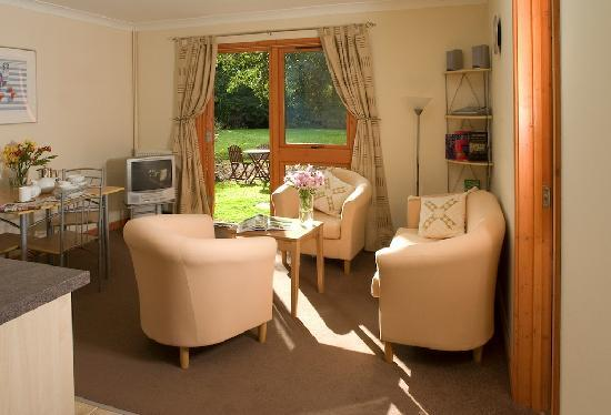 Kettleburgh, UK: Self-Catering Lounge