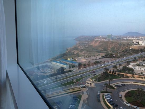 Sheraton Oran Hotel : view from the room