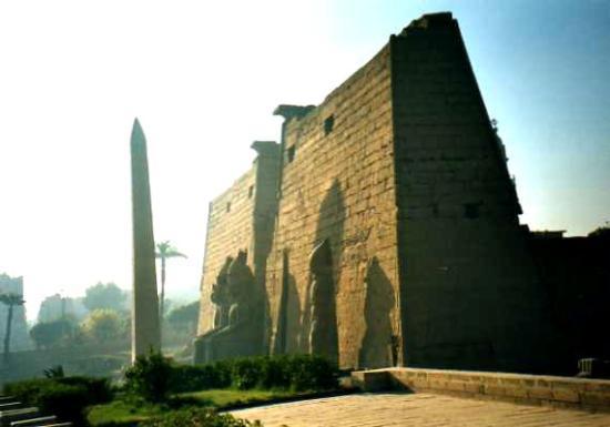 Temple of Amun : Tempio di Amon: ingresso