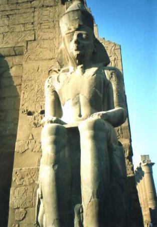Temple of Amun : Tempio di Amon: Ramses II