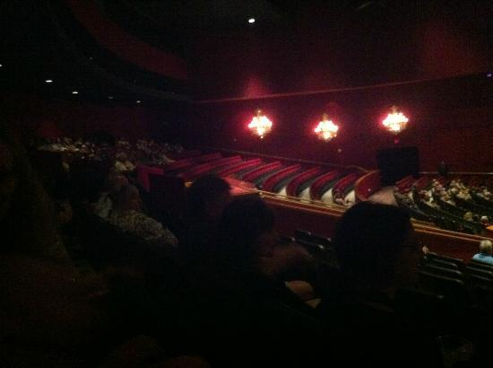 Jersey Boys: Empty rows and we're like sardines