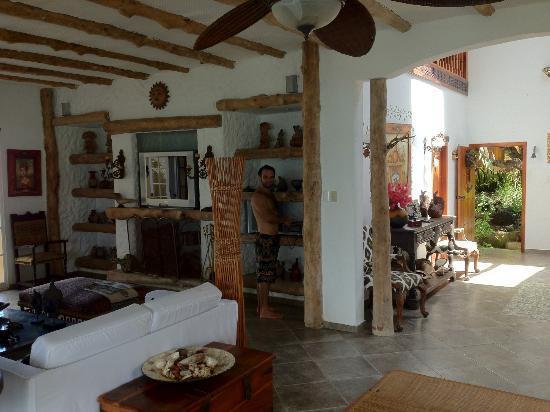 Casa La Iguana: Living room