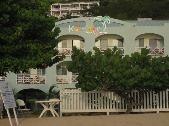 Kalinago Beach Resort: From the beach