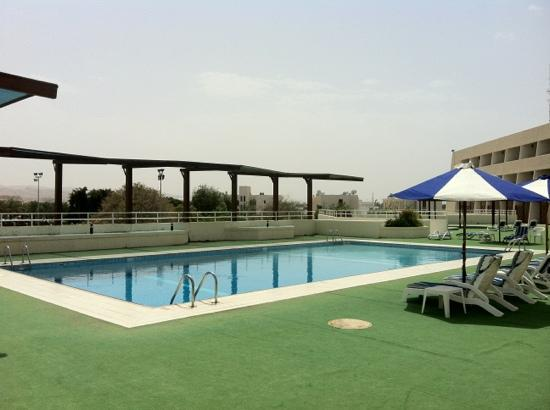 Hotel Al Khozama: Nice pool area at Al Khozama