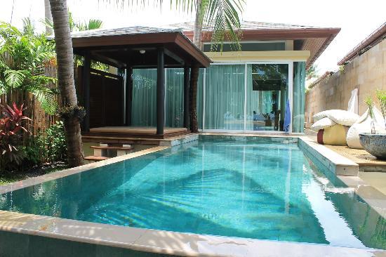 Elements Boutique Resort & Spa Hideaway: Private Pool der Beach Villa mit Sala