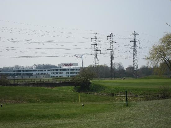 Scandic Segevang: View from the adjacent golf course