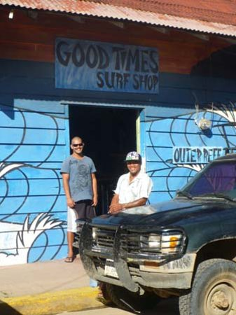 Good Times Surf Shop: here to service you
