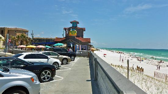 Pompano Joe S From Beach Parking Lot