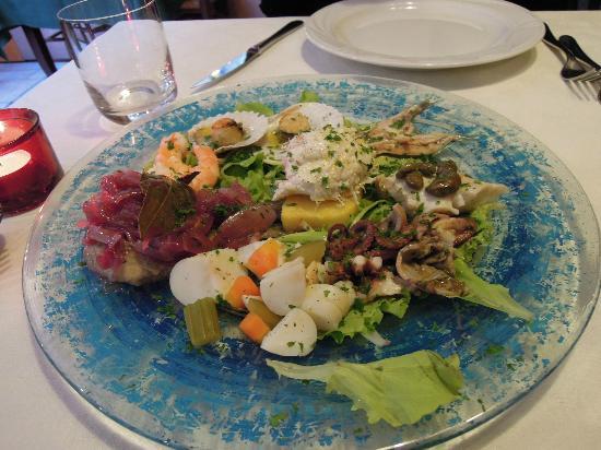 Osteria Antico Giardinetto: Mixed Seafood Venetian Style