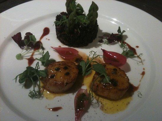Emilies Eld Restaurant & Bar : kamskjell