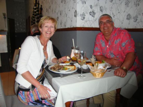 Restaurante Ysconderijo : Dave & Jenny Campbell