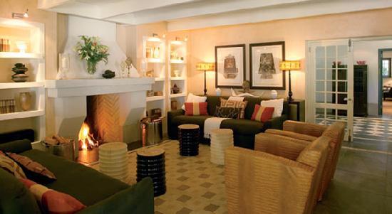 Grande Provence Estate The Owner's Cottage: Living Room