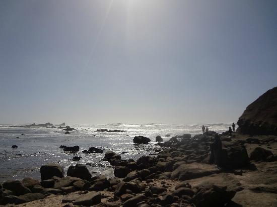 The beautiful Mavericks beach