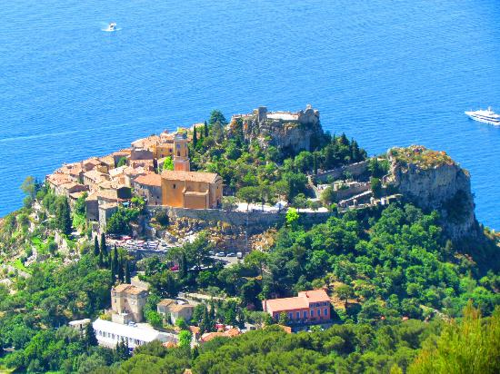 view from the top - Foto di Jardin Exotique, Eze - TripAdvisor