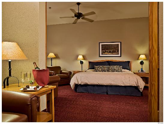 Wuksachi Lodge: Superior King Guestroom