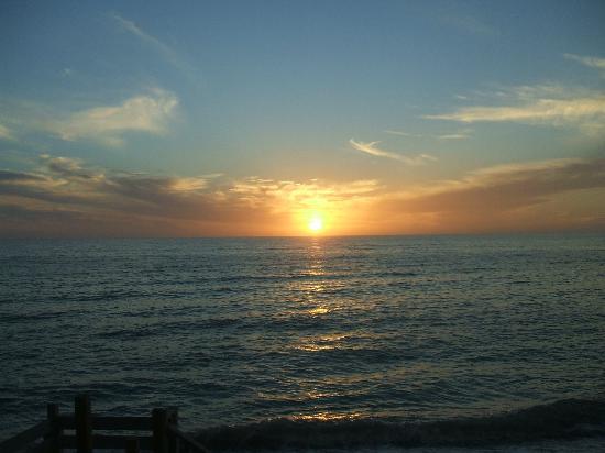 Ko Ko Kai Resort: Sunset over the Gulf