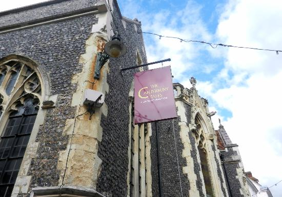 Wincheap Guest House: The canterbury Tales is well worth a vist
