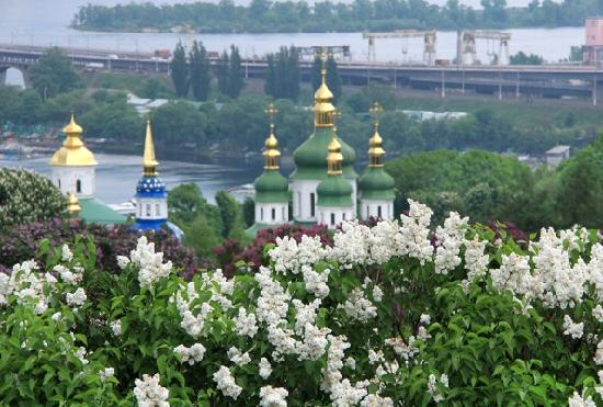 Botanical garden in Kiev