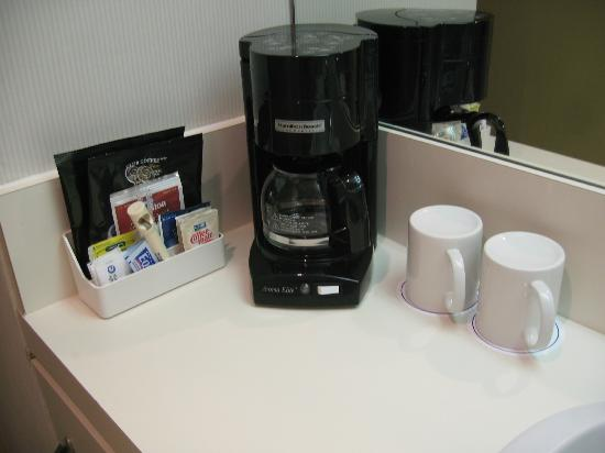 Coast Capri Hotel Kelowna: Coffee machine