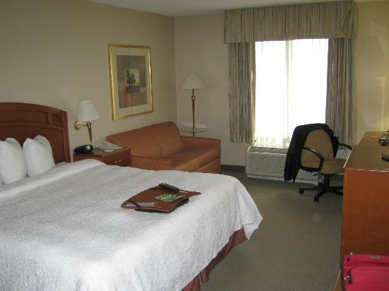 Hampton Inn & Suites by Hilton Windsor: Bed