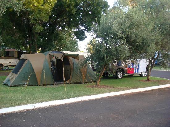 Westview Caravan Park: Camping view 3