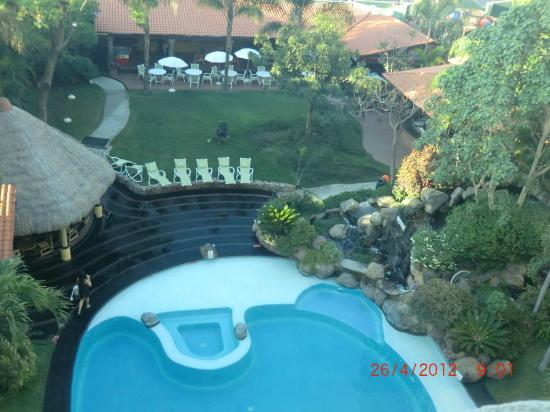 Holiday Inn Cuernavaca: Zimmerblick