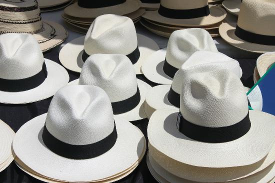 ‪راديسون ديكابولس بنما سيتي: Panama hats for sale‬