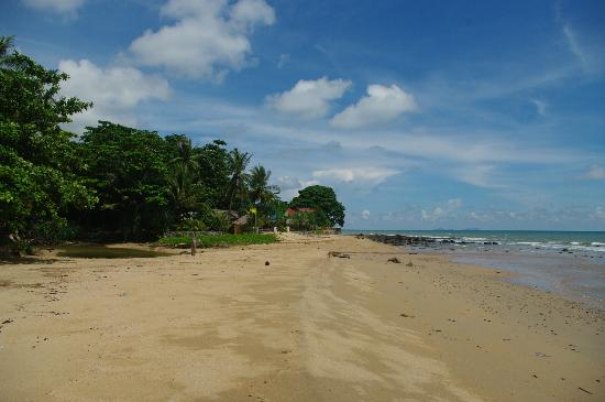 Lanta Coral Beach Resort: plage