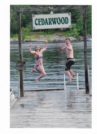 Cedarwood on Lake Muskoka : Having fun at the water!