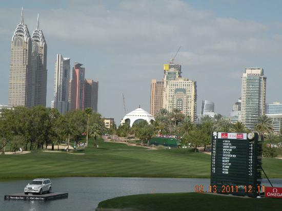The Emirates Golf Club : Dubai Desert Classic 2011