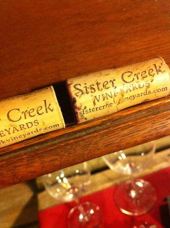 Sister Creek Vineyards: Corks