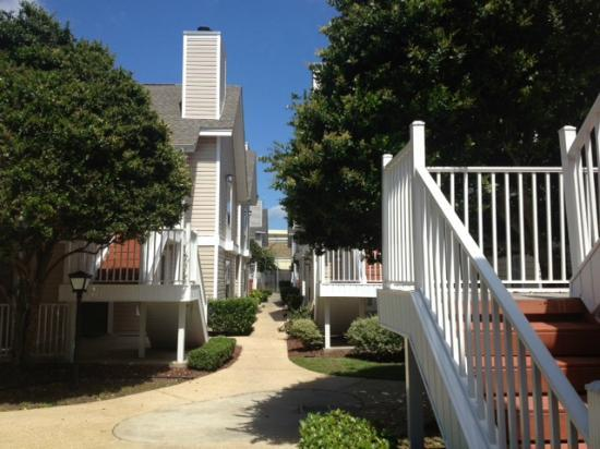 MainStay Suites Pensacola : Outside of Hotel