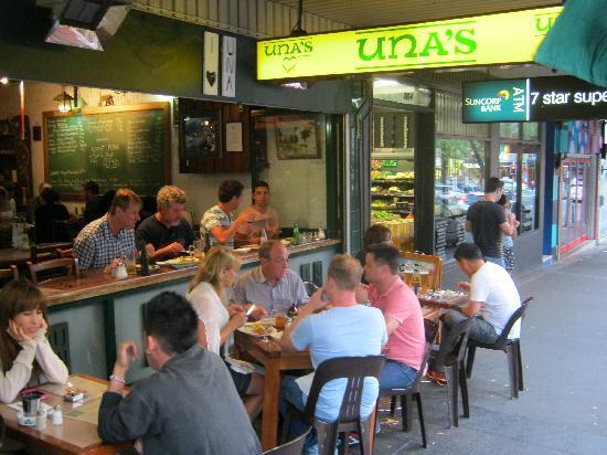 Kings Cross: Una's German Restaurant famous for it's big plates.