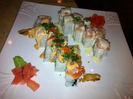 Hazumi Sushi Bar: Haru Roll and Oregon Roll