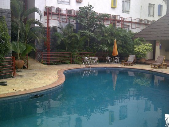 Swimming Pool Nice And Warm 30 Degrees C Picture Of La Cour Hotel Cooper Lagos Tripadvisor