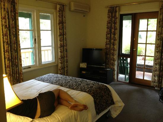 Margaret River Guest House: Queen bed in Quen Garden Room