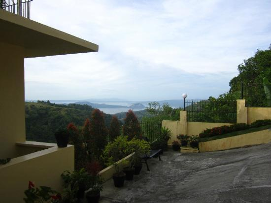 Royal Taal Inn: View from our room