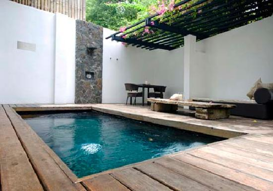 ‪‪Abaca Boutique Resort‬: Garden Pool Villa - Pool‬