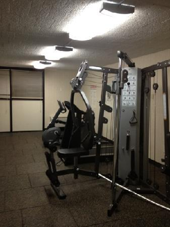 Comfort Inn-Pocono Mountain: great fitness center!!!