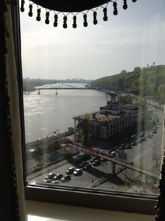 Fairmont Grand Hotel Kyiv: view from 12th floor