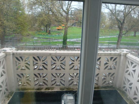 Grantly Hotel: veduta balcone