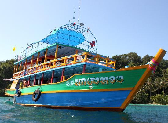 Kon Tiki  Koh Chang: the vessel