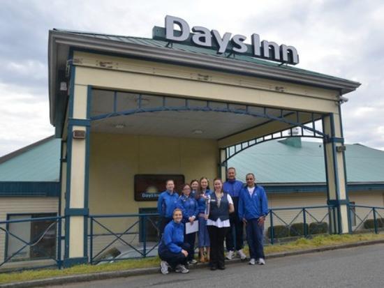 Days Inn - Nanaimo : World Harmony Run at Days Inn