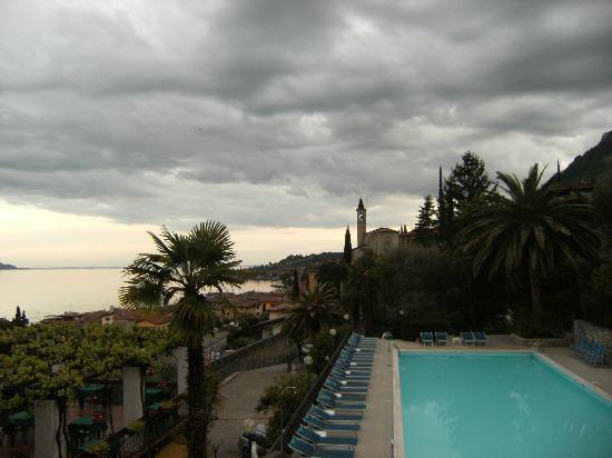 Hotel Palazzina: Panorama dalla camera