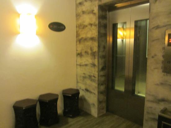 Hotel Richbaliz: Creative lift area